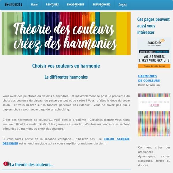 Color Scheme Designer mode d'emploi