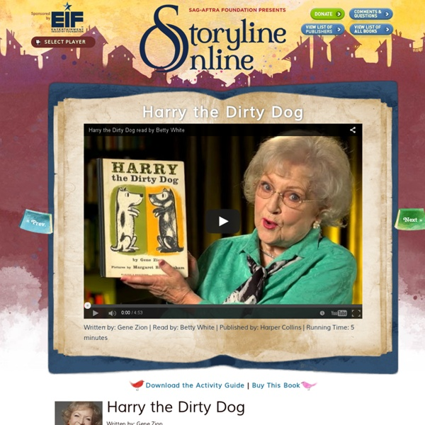 Harry the Dirty Dog - Storyline Online