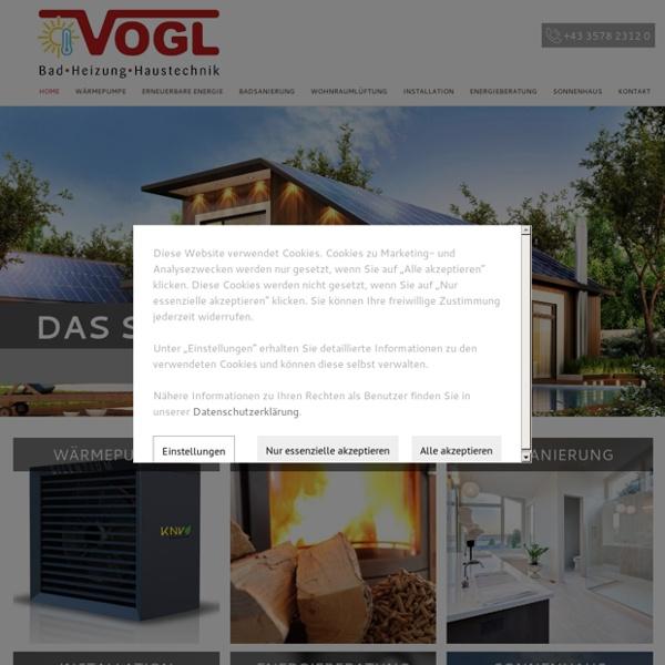 Vogl Haustechnik - Ihr Installateur aus Obdach im Murtal