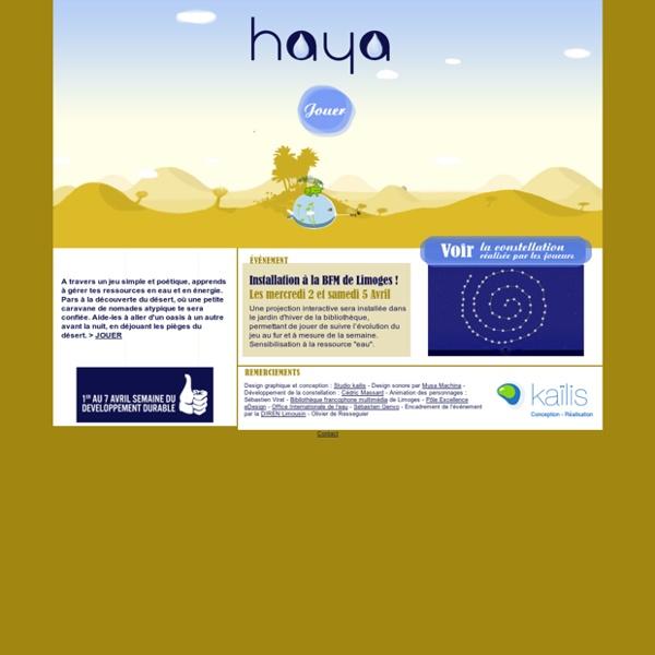 HAYA - L'eau c'est la vie