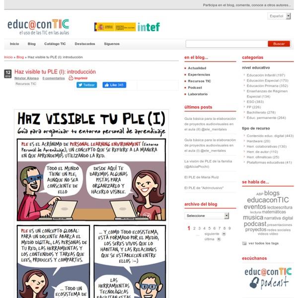 Haz visible tu PLE (I): introducción