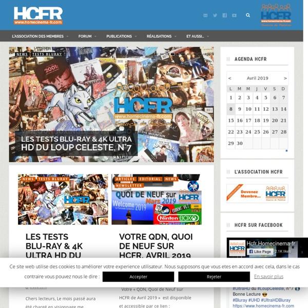 HCFR Mag — Le site du HomeCinema FRancophone