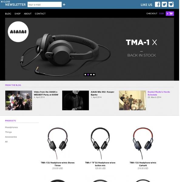 AIAIAI - Headphones - Earbuds - Dj headphones