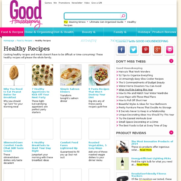 Healthy Recipes - Healthy Meals and Recipes