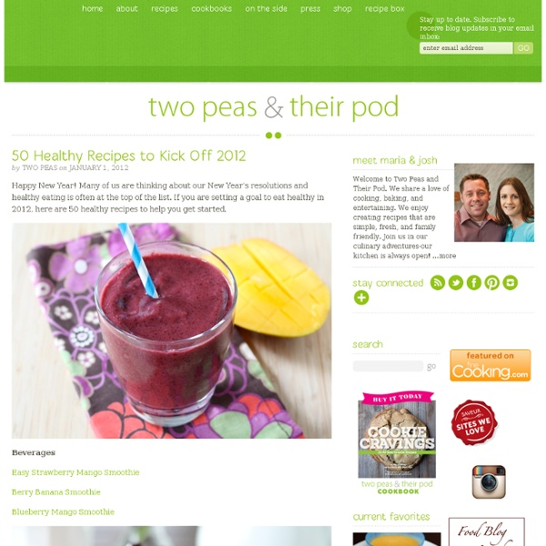50 Healthy Recipes to Kick Off 2012