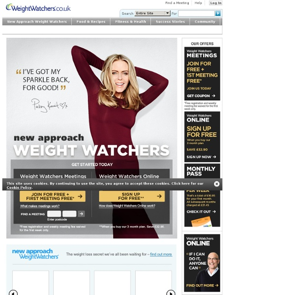 WeightWatchers.co.uk - Official Site - Lose Weight the Healthy Way with Weight Watchers
