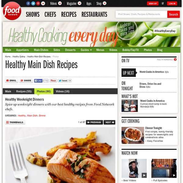 Healthy Weeknight Dinners : Recipes and Cooking