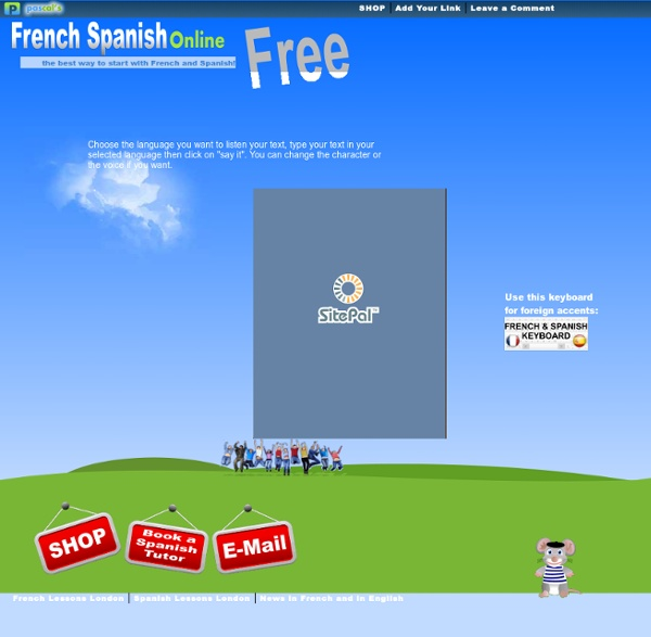 Say what you type in French : Say what you type in Spanish