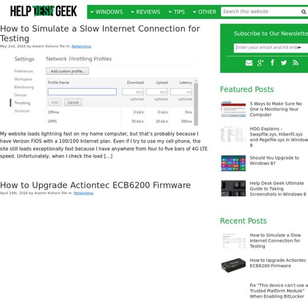 Help Desk Geek » Help Desk Tips for IT Pros