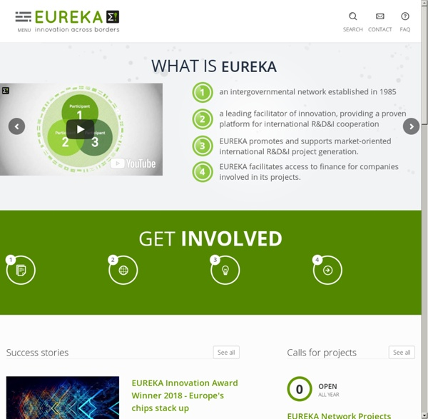 A Europe-wide Network for Market-Oriented Industrial R&D and Innovation - EUREKA