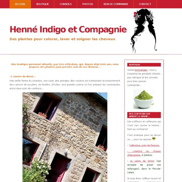 Henné Indigo et Compagnie