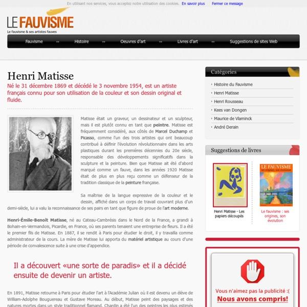 Artiste fauve français
