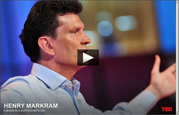 Henry Markram builds a brain in a supercomputer