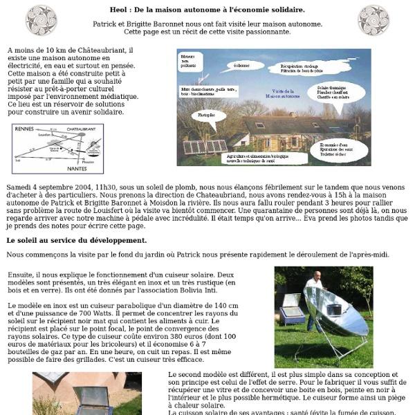 Heol : la maison autonome des Baronnets