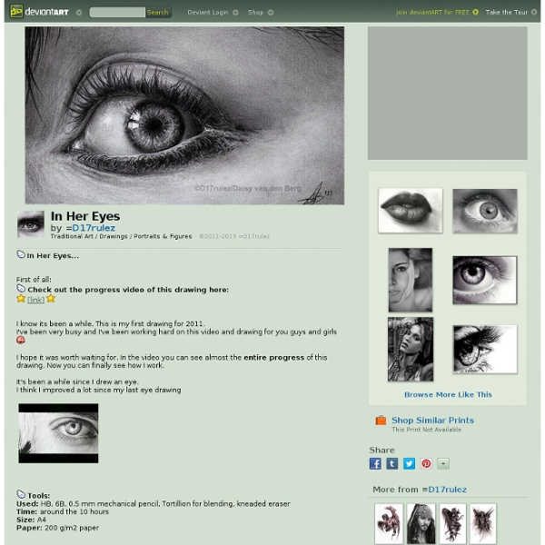 In Her Eyes by =D17rulez on deviantART