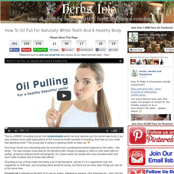 Herbs info blog