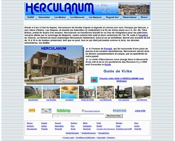 Herculanum - Guide -