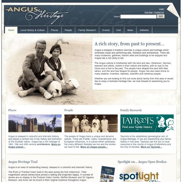Angus Heritage - Sir Robert Watson Watt