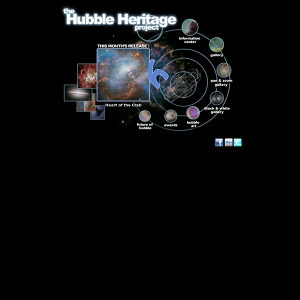 The Hubble Heritage Project Website