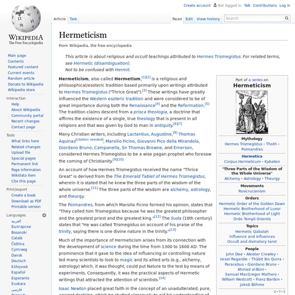 Hermeticism