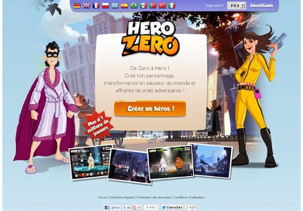 Hero Zero - le jeu gratuit par navigateur!