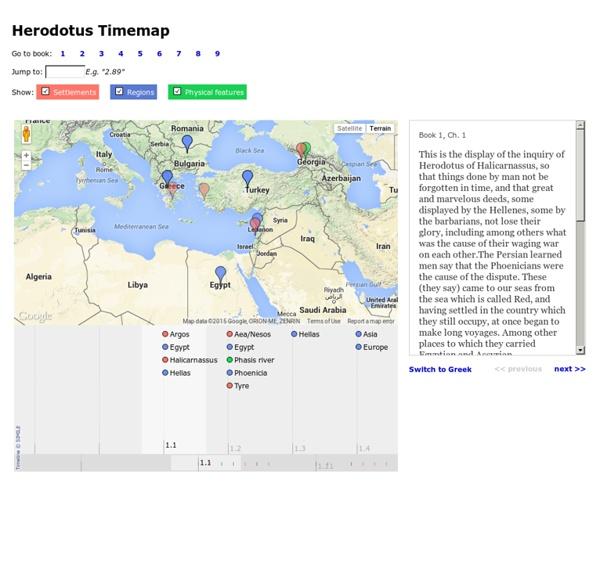 Herodotus Timemap
