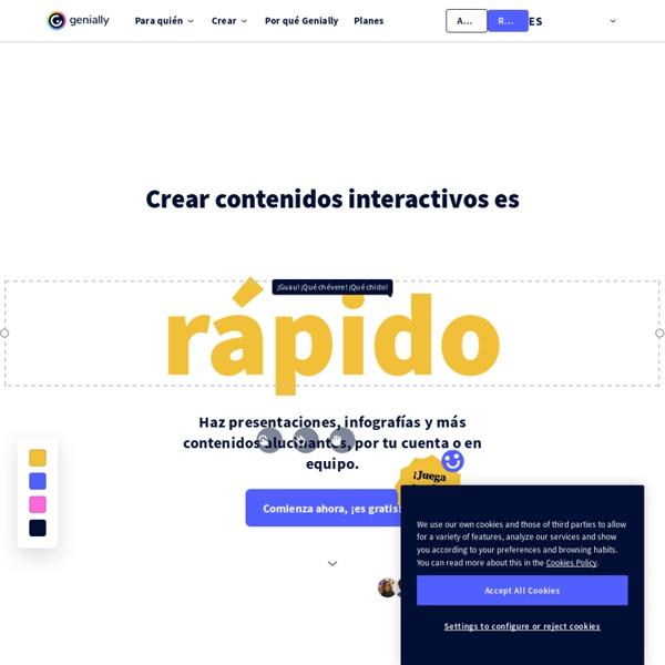 Software para crear contenidos interactivos geniales