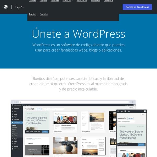 Español — WordPress