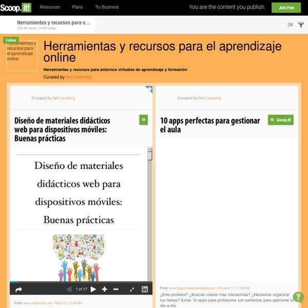 Herramientas y recursos para el aprendizaje online