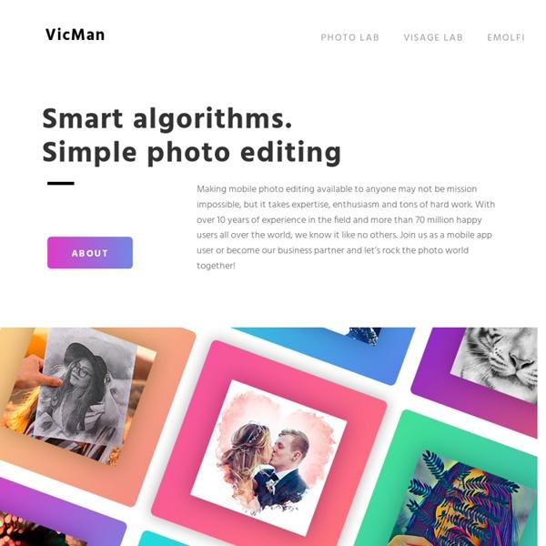 Pho.to - editor de fotos en línea, efectos y herramientas divertidos, programa gratis.