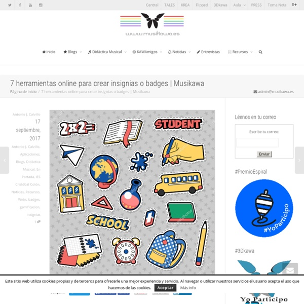 7 herramientas online para crear insignias o badges
