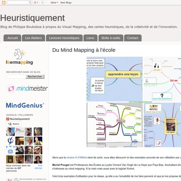 Du Mind Mapping à l'école