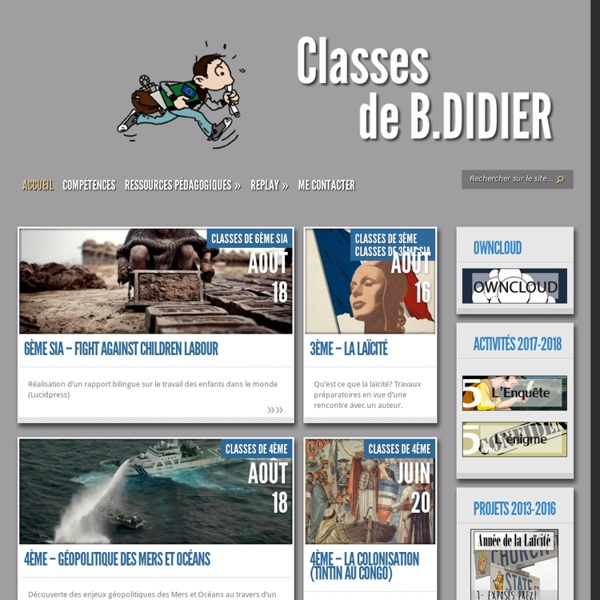 HG 2.0 - Classes de B.DIDIER -