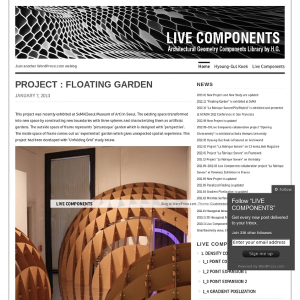 LIVE COMPONENTS