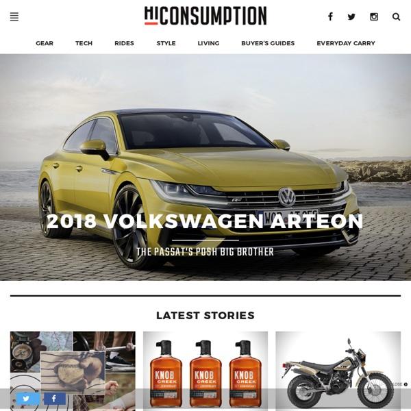 HiConsumption - Digital Lifestyle Magazine for Guys