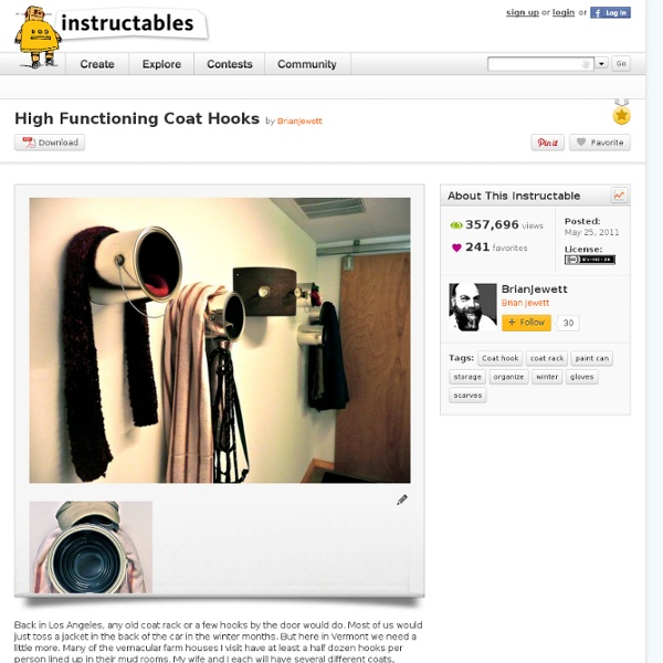 High Functioning Coat Hooks