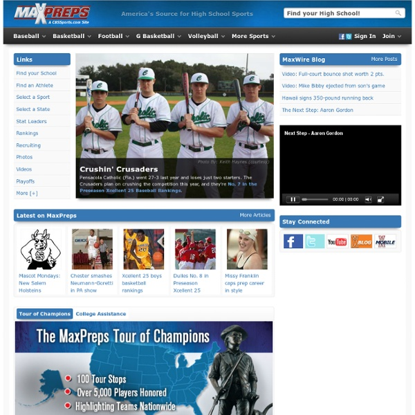 High School Sports - MaxPreps