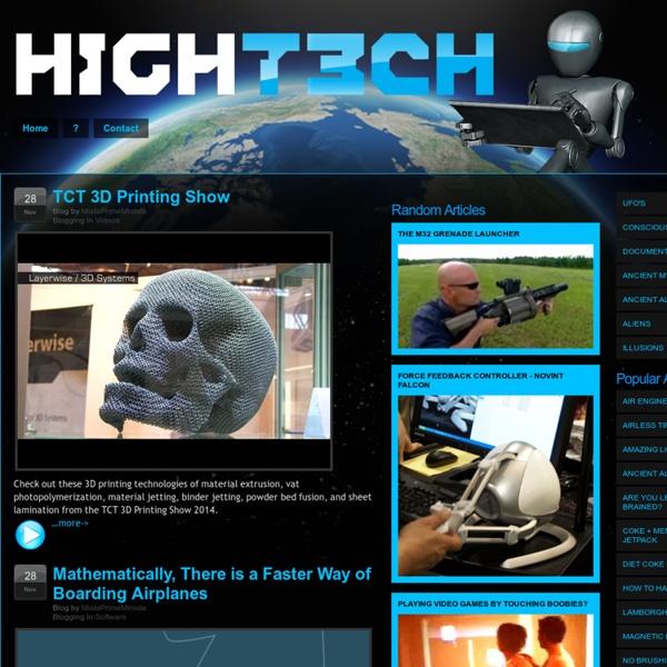 High T3ch Magazine