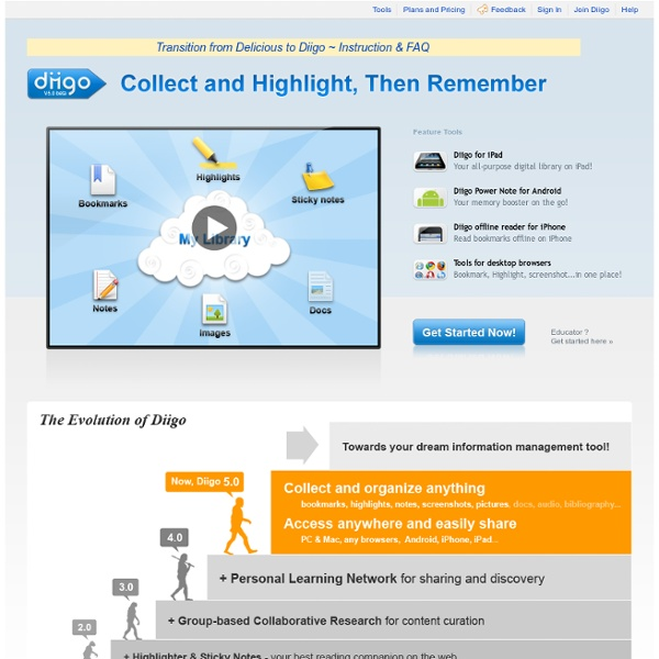 Web Highlighter and Sticky Notes, Online Bookmarking and Annotat