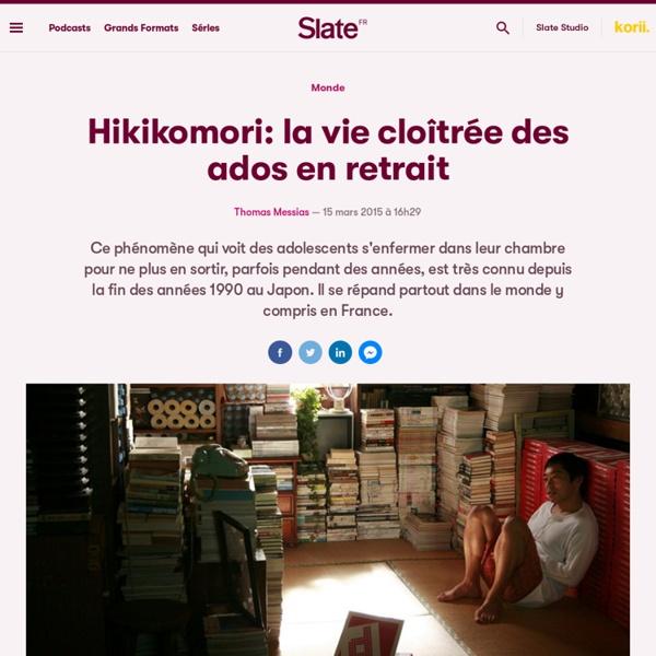 Hikikomori: la vie cloîtrée des ados en retrait