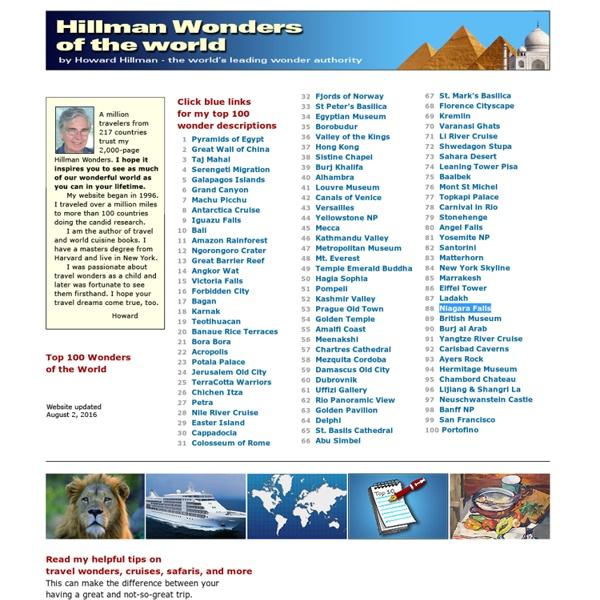 Hillman Wonders of the World