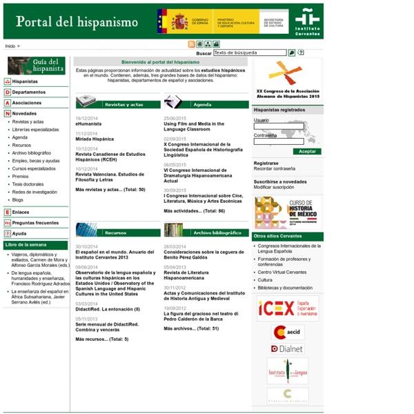Portal del hispanismo