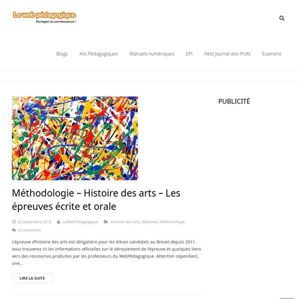 Histoire des arts au brevet, HDA - DNB