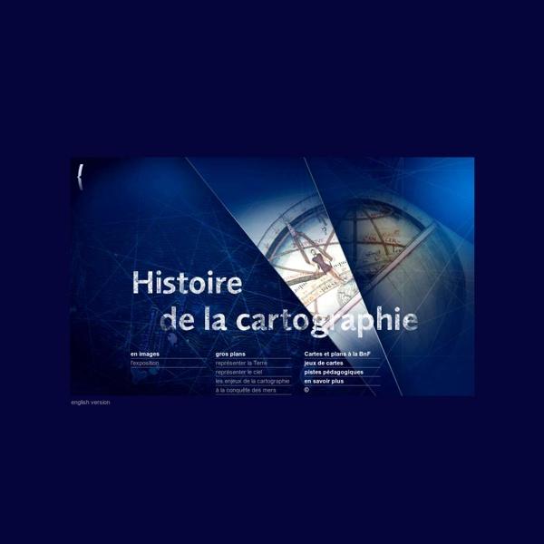 Bnf, Histoire de la cartographie