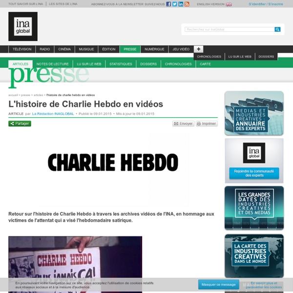 L'histoire de Charlie Hebdo en vidéos