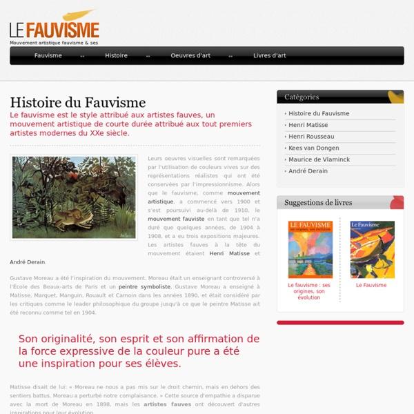 Histoire du Fauvisme