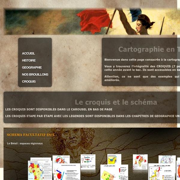 HISTOIRE GEOGRAPHIE EN TERMINALE