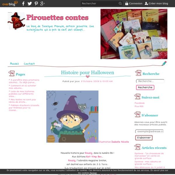 Histoire pour Halloween - Pirouettes contes