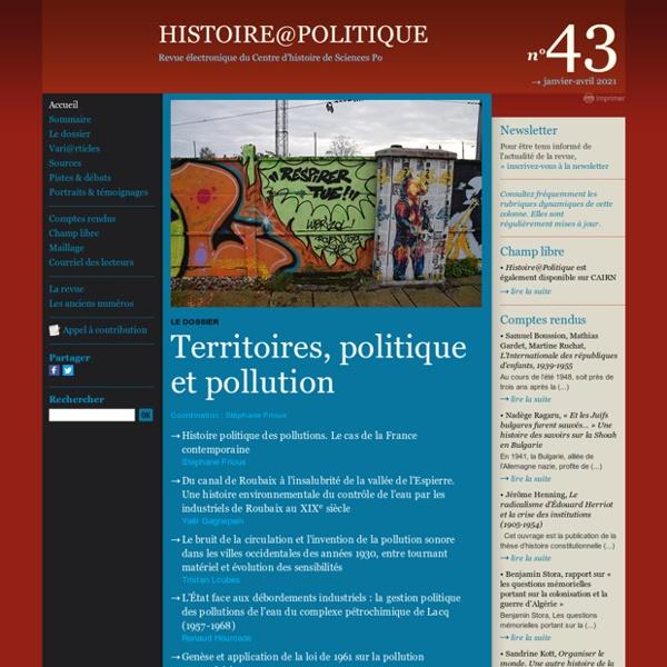 Histoire@Politique n°24, le programme de CNR en perspéctive