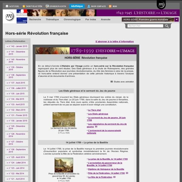 L'Histoire par l'image - Hors-série Révolution française